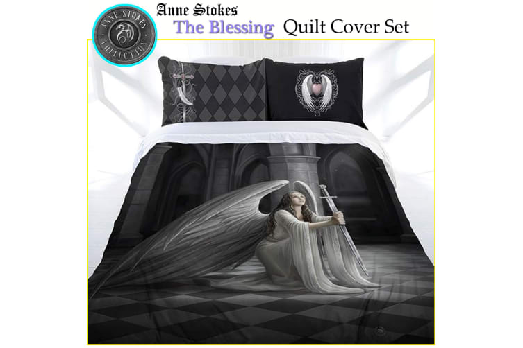 Anne Stokes The Blessing Quilt Cover Set Queen