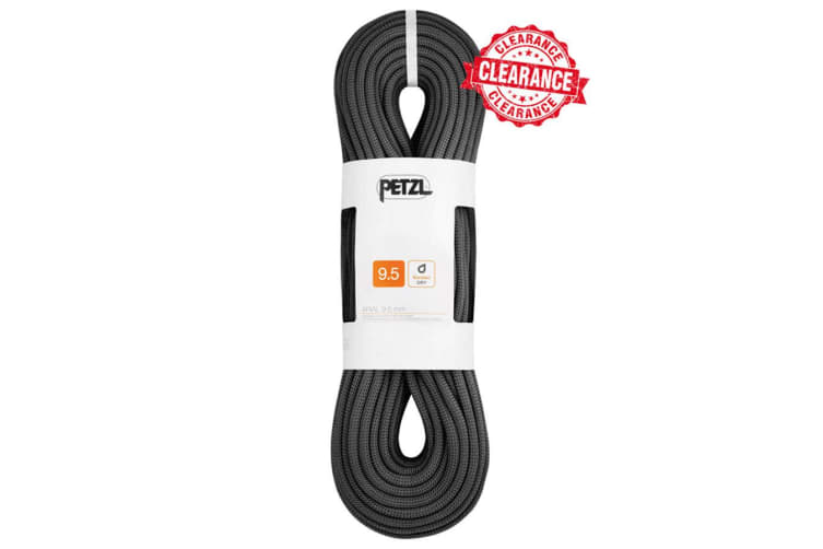 Petzl Arial 9.5Mm 60M Dynamic Rope Black
