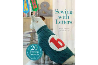 Sewing with Letters - 20 Sewing Projects