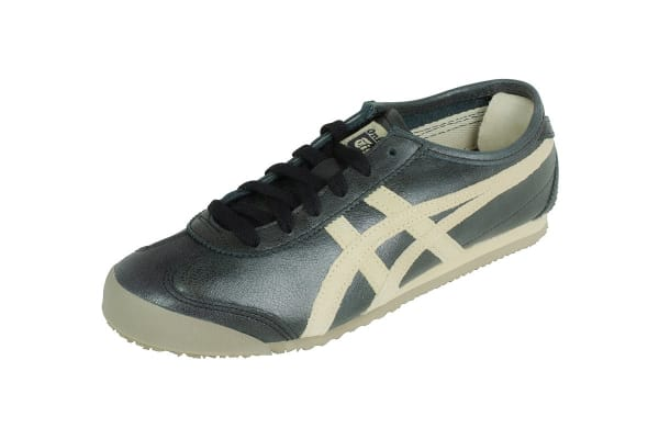 Onitsuka Tiger Mexico 66 Shoe (Black/Feather Grey, Size 10.5)