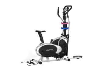 6-in-1 Elliptical Cross Trainer Exercise Bike - PowerTrain