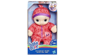 Baby Alive Love My Blankie Baby Pink Doll