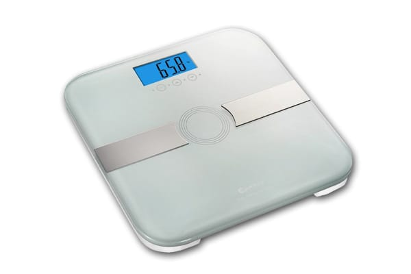 Sansai Body Fat Bathroom Scale - White (SCA-3342)