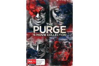 The Purge 4 Movie Collection Box Set DVD Region 4