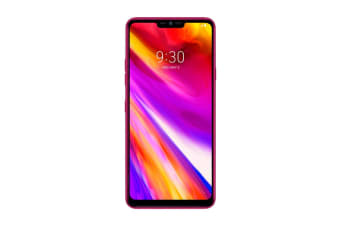 LG G7+ ThinQ Dual SIM (128GB, Raspberry Rose)