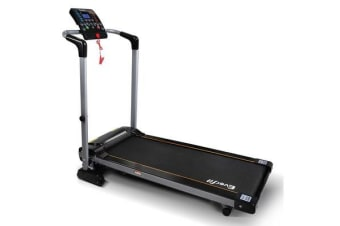 Electric Treadmill (Black) and (Silver)