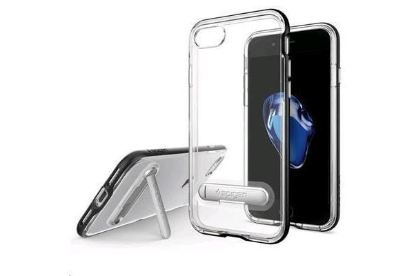Spigen iPhone 8/ 7 Crystal Hybrid Case Black