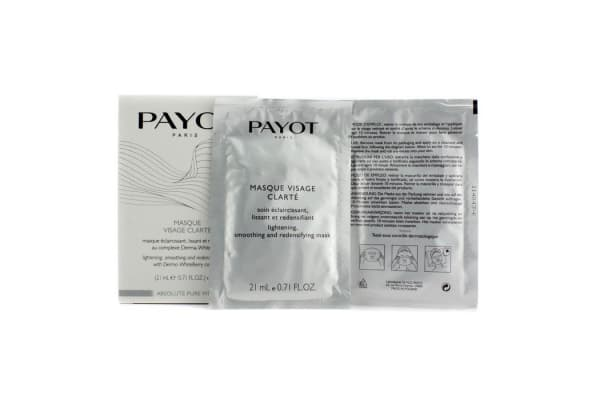 Payot Absolute Pure White Masque Visage Clarte Lightening Smoothing And Redensifying Mask (5x21ml/0.71oz)
