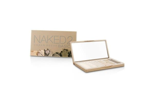Urban Decay Naked 2 Basics Eyeshadow Palette: 6x Eyeshadow (Cover, Frisk, Primal, Skimp, Stark, Undone) (6x1.3g/0.05oz)