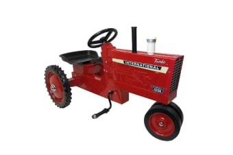 Case IH Agriculture Harvester 1256 Pedal Tractor Kids Ride On Toy/Toys 3y+ Red