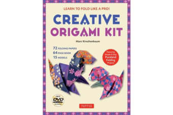 Creative Origami Kit - Learn to Fold Like a Pro! [Dvd; 64-Page Book; 72 Folding Papers]