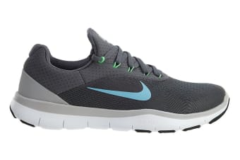 Nike Men's Free Trainer V7 Shoe (Dark Grey/Wolf Grey/Blue Fury, Size 10.5)