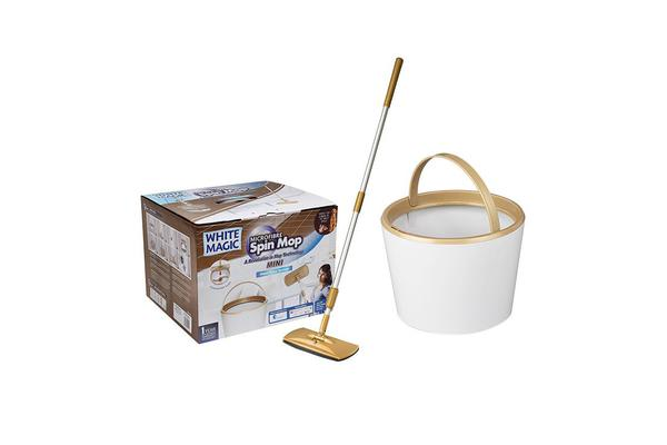 White Magic Mini Spin Mop
