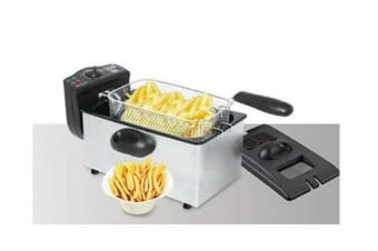 Maxim Kitchenpro 3.5L Litre Stainless Steel Deep Fryer- MDF35S