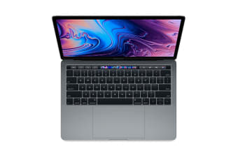 "Apple 13"" MacBook Pro with Touch Bar (2.3Ghz i5, 8GB RAM, 256GB SSD, Space Grey) - MR9Q2"