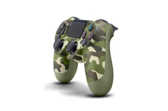 WJS Ps4 Wireless Controller With Dual Vibration Bluetooth Gamepad for PlayStation 4 Pro Gaming Remote Control Army Green