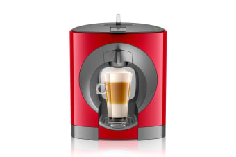 NESCAFE Dolce Gusto Oblo Capsule Coffee Machine - Dark Red (NCU200RED)