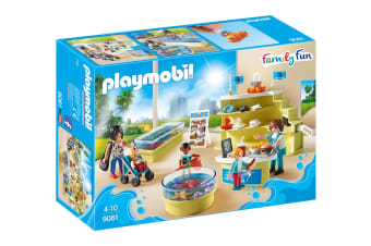Playmobil Family Fun Aquarium Shop