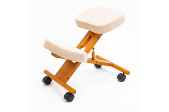 Ergonomic Kneeling Chair - WHITE