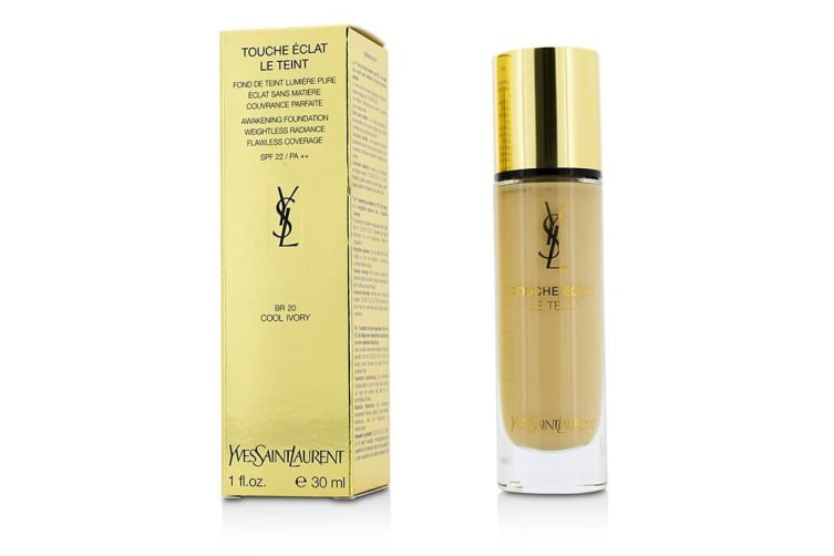 Yves Saint Laurent Touche Eclat Le Teint Awakening Foundation SPF22 - #BR20 Cool Ivory 30ml