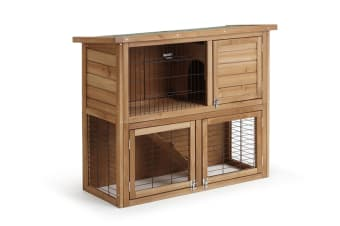 Pawever Pets Wood Rabbit Hutch