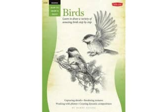 Drawing: Birds (How to Draw and Paint) - Learn to Draw a Variety of Amazing Birds Step by Step
