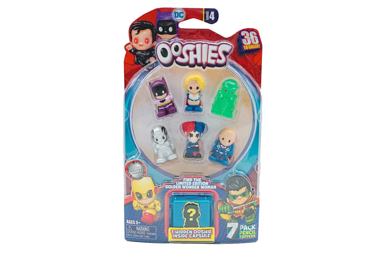 Ooshies DC 7 Pack S4 (Assorted)