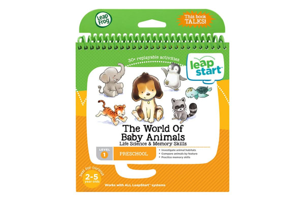LeapFrog LeapStart Animal Discovery Activity Book