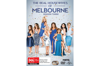 The Real Housewives of Melbourne Season 3 DVD Region 4