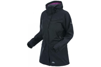 Trespass Womens/Ladies Skyrise Waterproof Shell Jacket (Black)