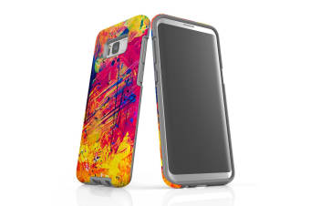 For Samsung Galaxy S8+ Plus Case  Armour Tough Cover  Abstract