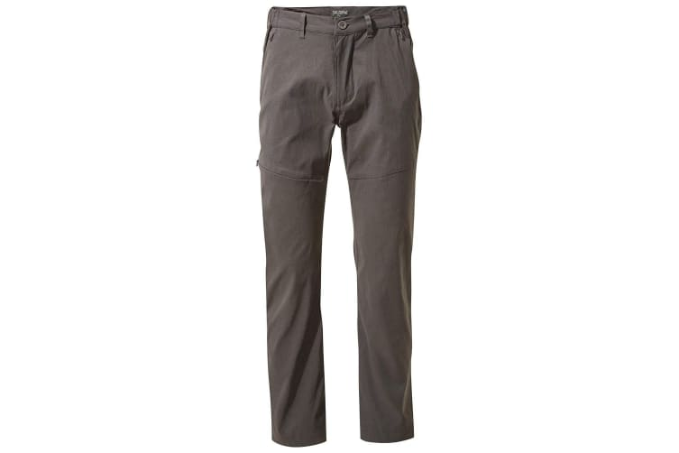Craghoppers Mens Kiwi Pro Trousers (Dark Lead) (30S)