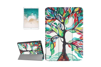 For iPad Pro 10.5inch Case Stylish Painted Tree Pattern Durable Protective Cover