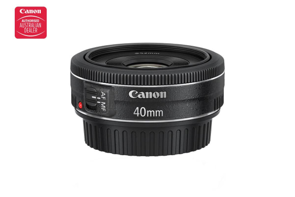 Canon EF 40mm f/2.8 STM, Diameter 52mm to suit Lens Hood ES-52 (EF4028ST)
