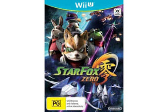 STAR FOX ZERO   Nintendo Wii Game - Disc Like New