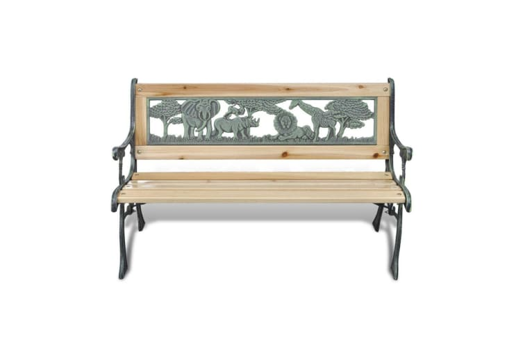 vidaXL Children Garden Bench 80 cm Wood