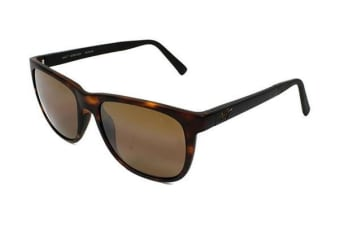 Maui Jim Tail Slide - Matte Tortoise with Black Temples (HCL Bronze Polarised lens) Unisex Sunglasses