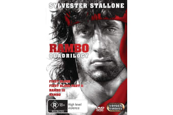 Rambo The Complete Collection DVD Region 4