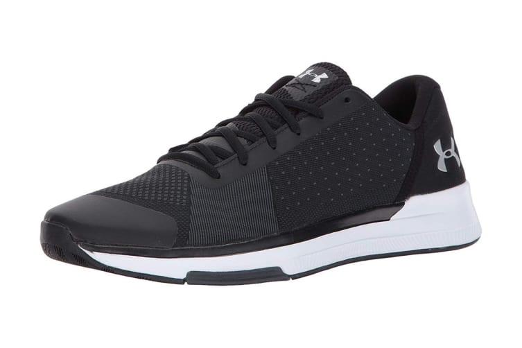 Under Armour Men's Showstopper Cross-Trainer Shoe (Black/White, Size 12)