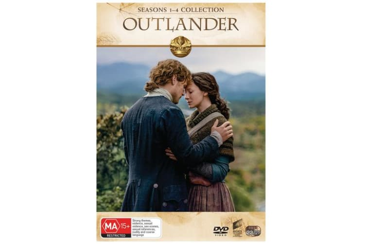 Outlander Seasons 1-4 Box Set DVD Region 4