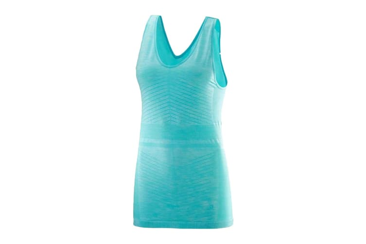 Salomon Elevate Move'On Tank Women's (Blue Curacao, Size Large)