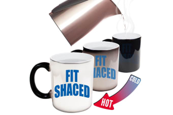 123T Funny Colour Changing Mugs - Fit Shaced
