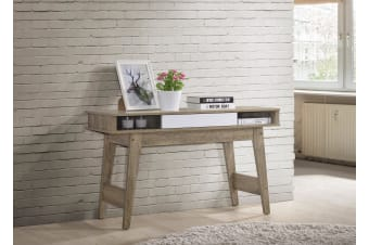 Console Table with Drawer Hallway Scandinavian - Oak