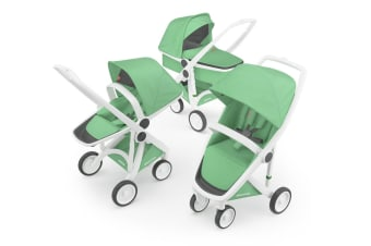 Greentom 3-in-1 Combo Stroller - Mint