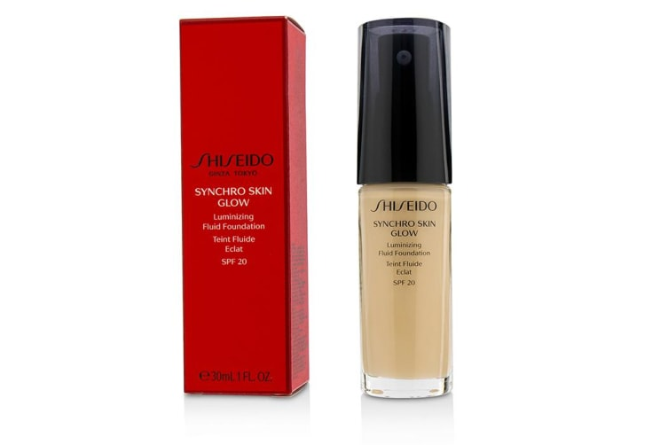 Shiseido Synchro Skin Glow Luminizing Fluid Foundation SPF 20 - # Neutral 30ml