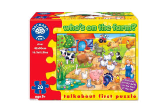 Orchard Toys Farm Who's on the Farm Jigsaw Puzzle
