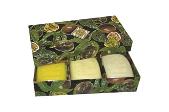 Clover Fields Gift Box Fresh Fruits Box Passionfruit x 3 Pack