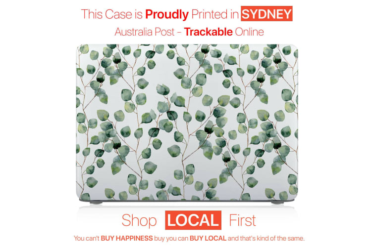 """Hard Case Cover for Apple Macbook Pro 13"""" Inch A1708-Plant Leaves"""
