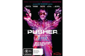 Pusher - DVD Movie - BRAND NEW SEALED - Thriller -R18+