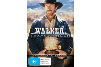 Walker Texas Ranger The Fourth Season 4 DVD Region 4